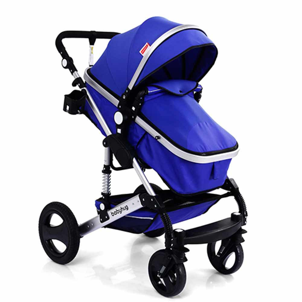 Babyhug 2 in 1 Royal Ride Stroller Cum Convertible Carry Cot