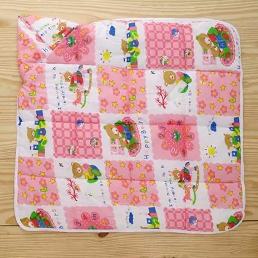 Babyhug Hooded Quilted Wrapper-3