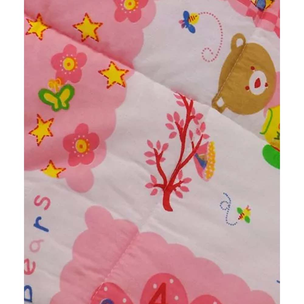 Babyhug Hooded Quilted Wrapper-7