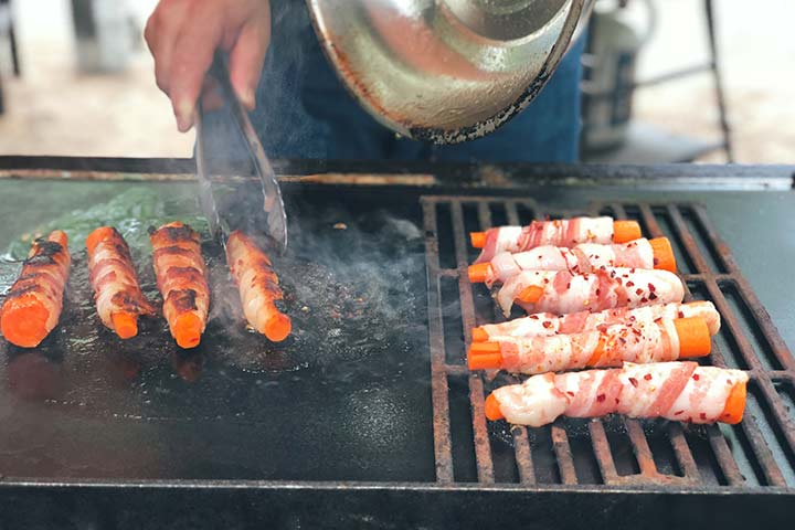 Bacon-Wrapped Carrots