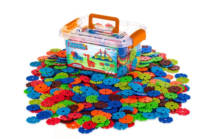 Creative Kids Flakes Interlocking Plastic Disc Set
