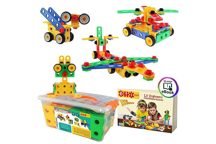 ETI Toys STEM Learning Building Blocks