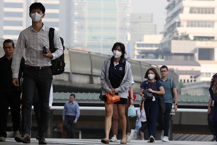 Effects Of Breathing Polluted Air