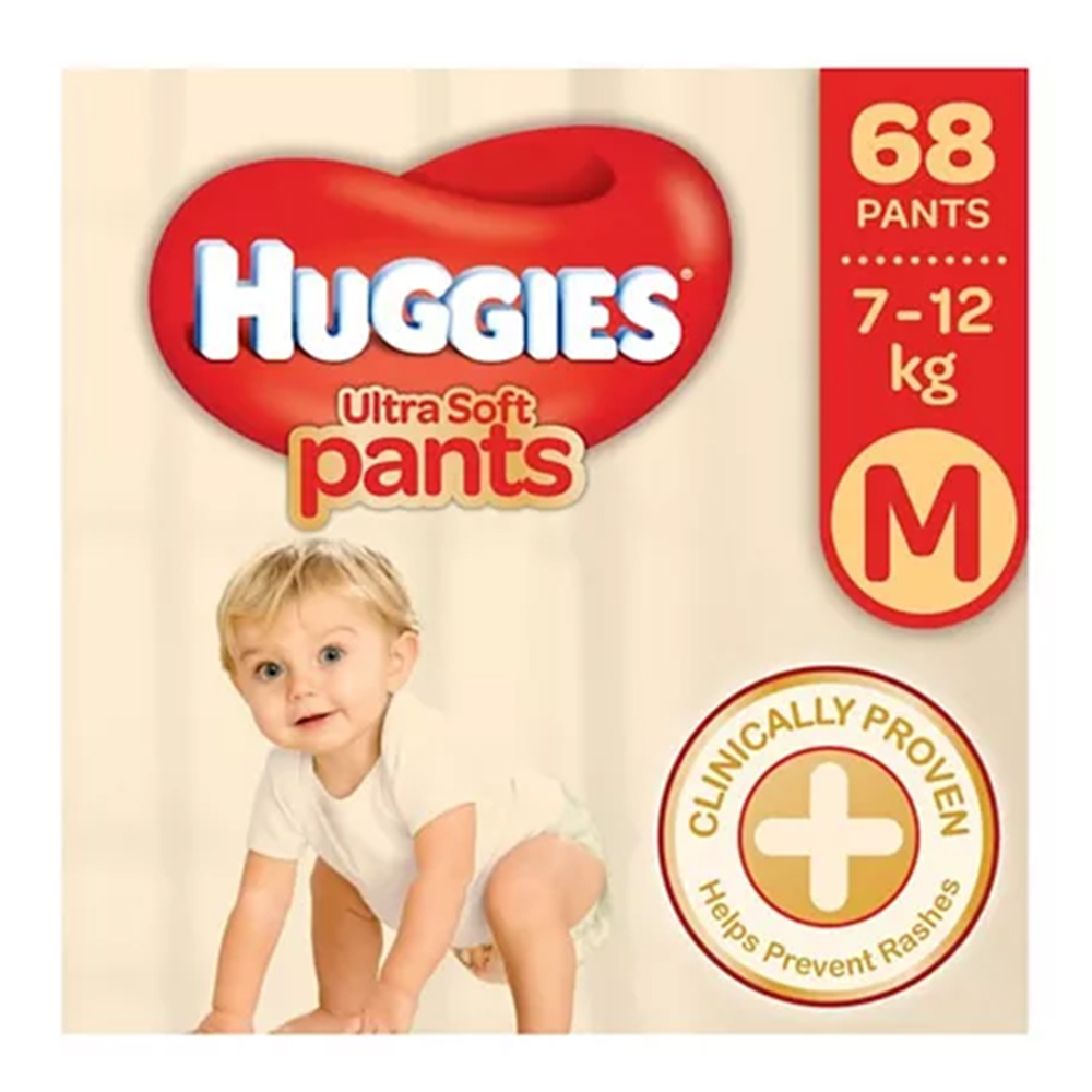 Huggies Ultra Soft Pants - Premium Diapers-0