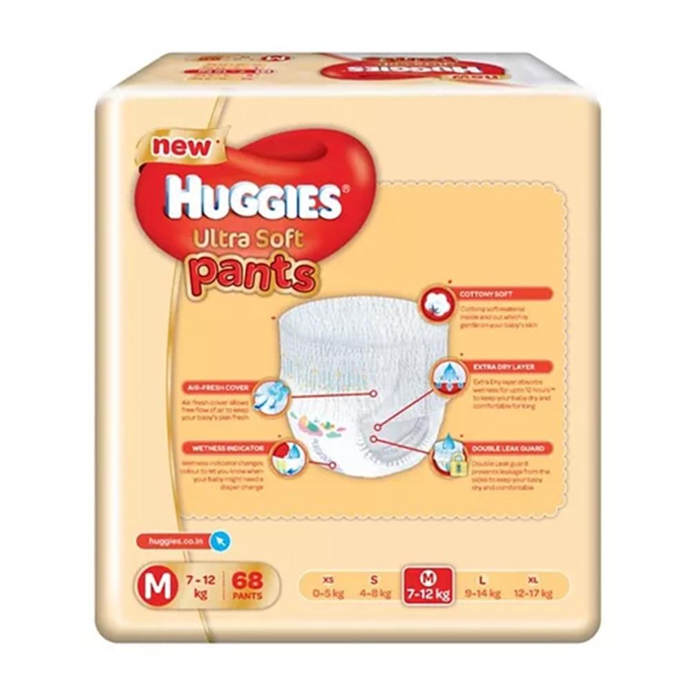 Huggies Ultra Soft Pants - Premium Diapers-1