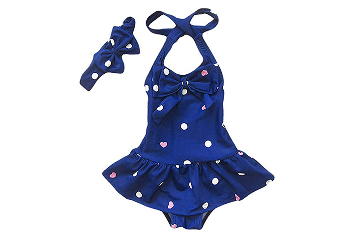Jastore Baby Girls One Piece Swimwear