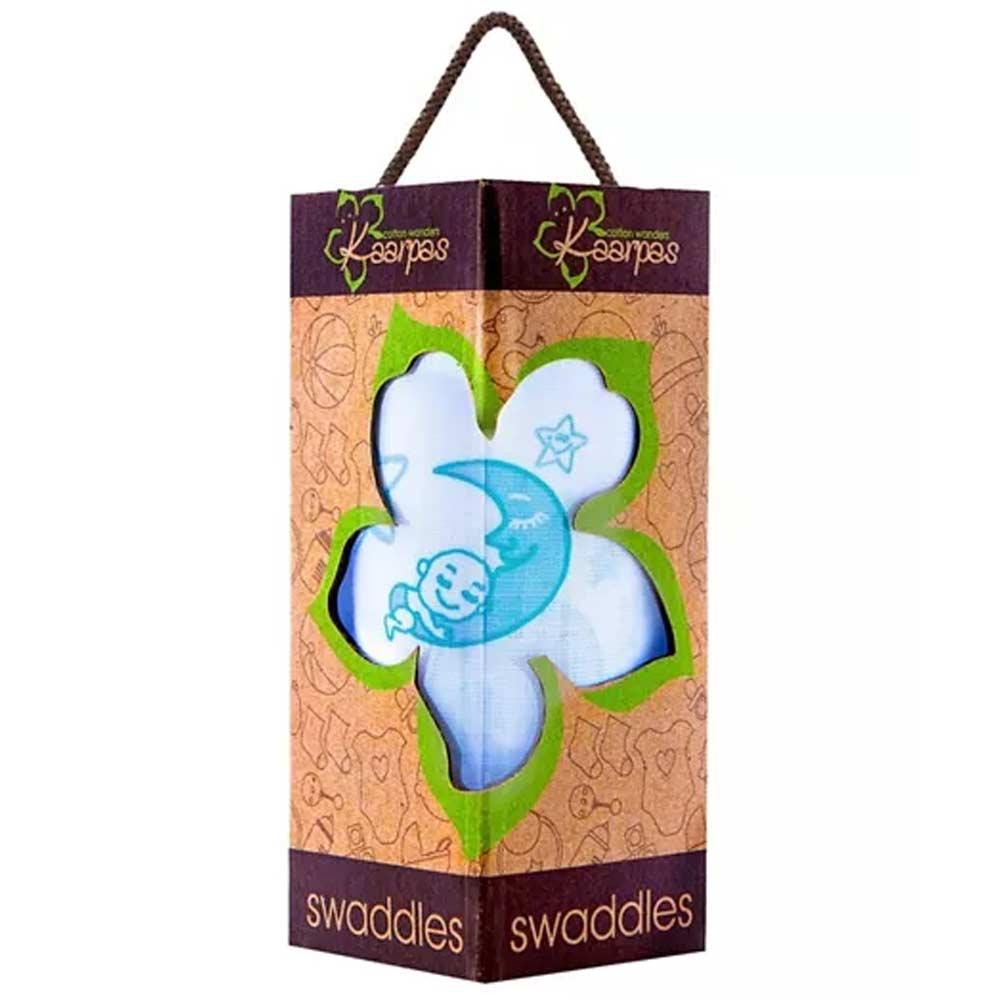 Kaarpas Premium Organic Cotton Muslin Swaddle-1