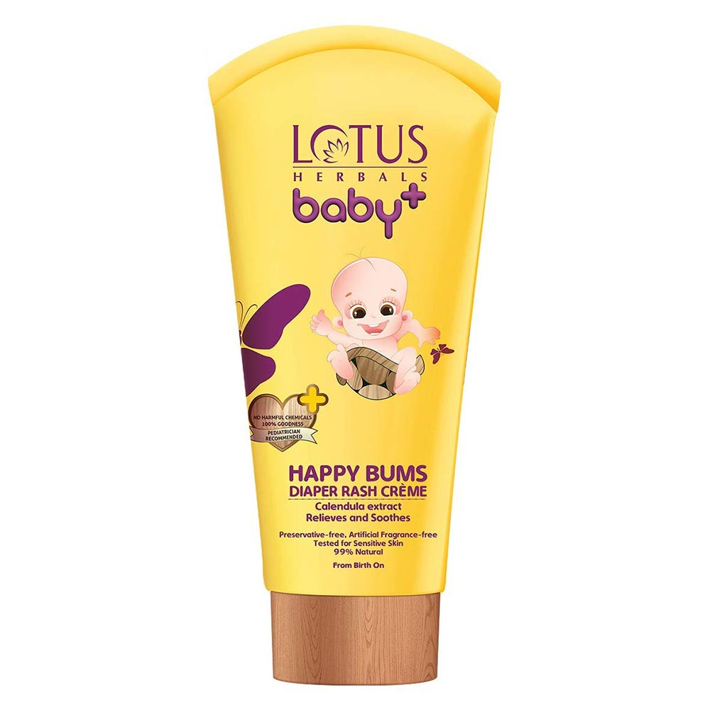 Lotus Herbals baby+ Happy Bums Diaper Rash Crème-0