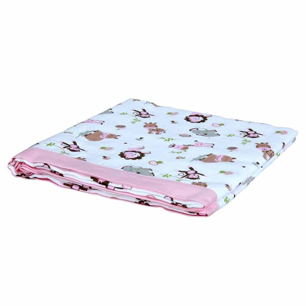 My Milestones Muslin Blanket 3 Layered