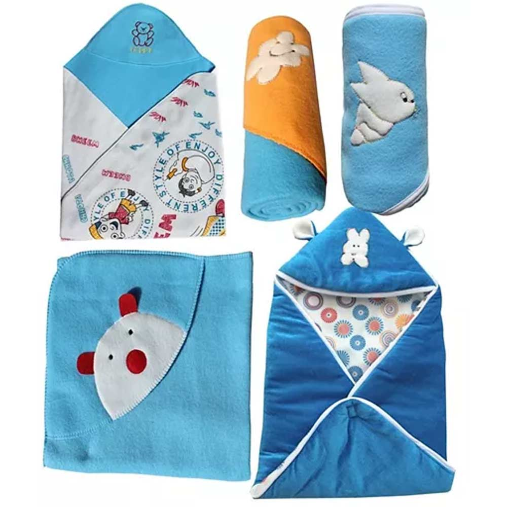 My NewBorn Premium Multipurpose Baby Wrappers pack-0