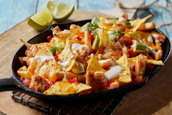 Nachos or fries