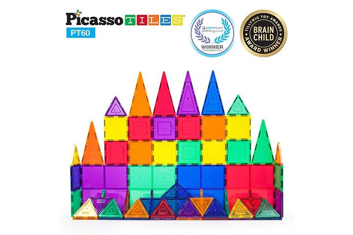 Picasso Tiles Magnetic Building Tiles