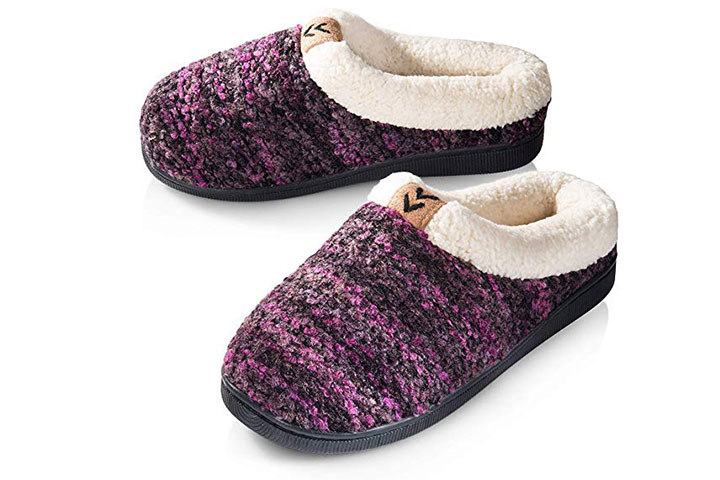 Pupeez knitted clog slippers