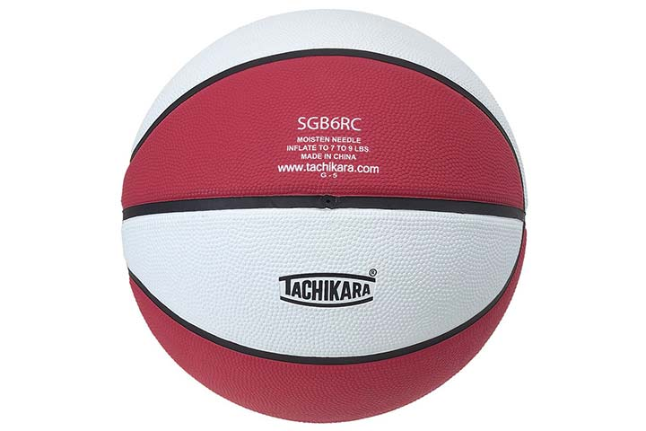 Tachikara 2-Tone Rubber Basketball