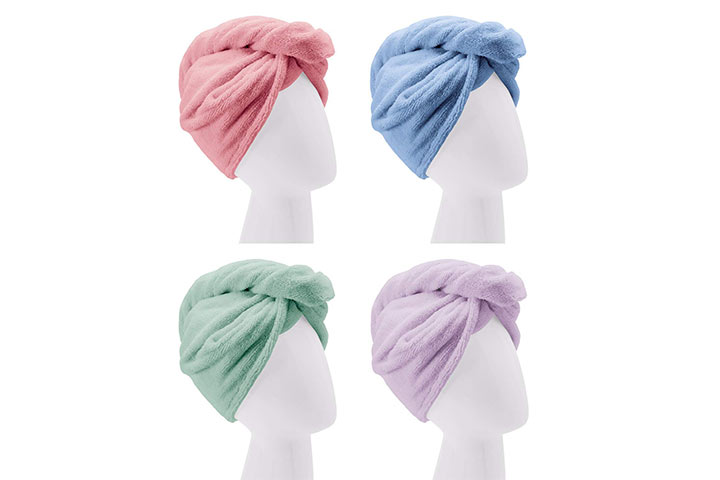 Turbie Twist Microfiber 4 pack