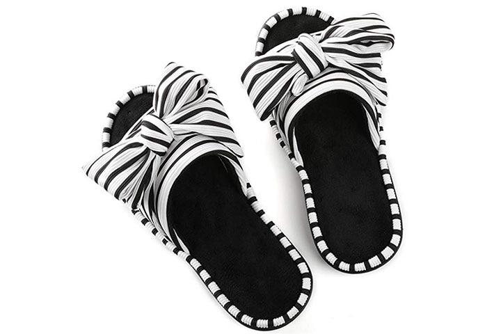 Ultraideas open-toe slippers