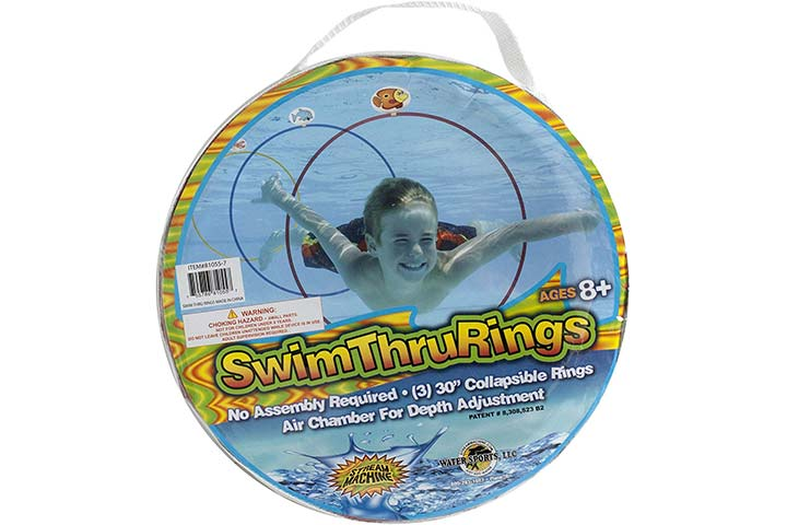 Water Sports Swim Thru Rings