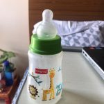 Babyhug Bubble Anti-Colic Feeding Bottle With Handles-An anti-colic bottle that actually works!-By ss1530