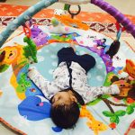 Baby Comfort Play Gym Animal Printed Mat-Attractive and fun for babies-By nidsrids
