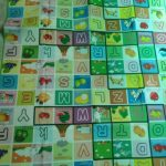 Paramount Anti Skid Double Sided Play Mat Alphabet Print-Perfect for babies...-By sakshi116