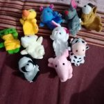 Kuhu Creations Animal Finger Puppets Pack-Best toy for stories-By priya_sethi