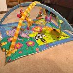 Animals Print Twist N Fold Activity Play Gym-colorful-By umadevi
