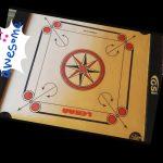 GSI Khel Mandir Gloss Finish Carrom Board With Accessories-Loved it-By talatjehan