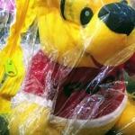 Disney Lazy Pooh Soft Toy-Pooh boy cute boy-By saraswathivalliappan