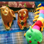 Deals India Stuffed Tiger And Caterpillar Combo-Excellent combo-By saraswathivalliappan