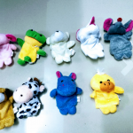 Kuhu Creations Animal Finger Puppets Pack-Puppet show is here-By saraswathisubbu