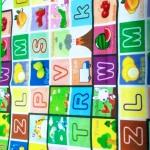 Paramount Anti Skid Double Sided Play Mat Alphabet Print-Learning and playing-By saraswathisubbu