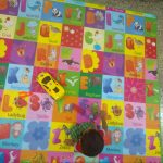 Paramount Anti Skid Double Sided Play Mat Alphabet Print-Easy maintenance play mat-By reny