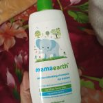 Mamaearth Gentle Cleansing Shampoo For Babies-A complete joy, tearfree shampoo with 5.6Ph-By shabina