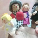 Kuhu Creation Wooden Family Doll Puppet-Story creator-By rev