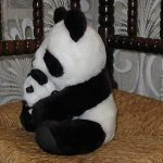 Deals India Mother Panda With Baby Panda-Tiny panda and the mum-By vandana586