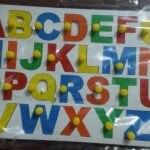 Little Genius - Wooden English Alphabet Uppercase With Knob-Bigger the better-By vandana_ajith