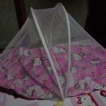 Babyhug Premium Gadda Set With Mosquito Net-Safe and soind sleep-By sumi2020