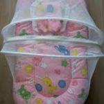 Babyhug Premium Gadda Set With Mosquito Net-Available in cute prints-By sammiya