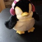 Dimpy Stuff Penguin With Ear Muffs-Fluffy penguin-By vandana586