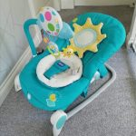 Chicco Balloon Bouncer With Toy Bar-Chicco balloon bouncer-By vandana586