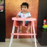 Babyhug Grace 2 in 1 Dining Chair-Best highchair at best price & features!!-By divyakiran