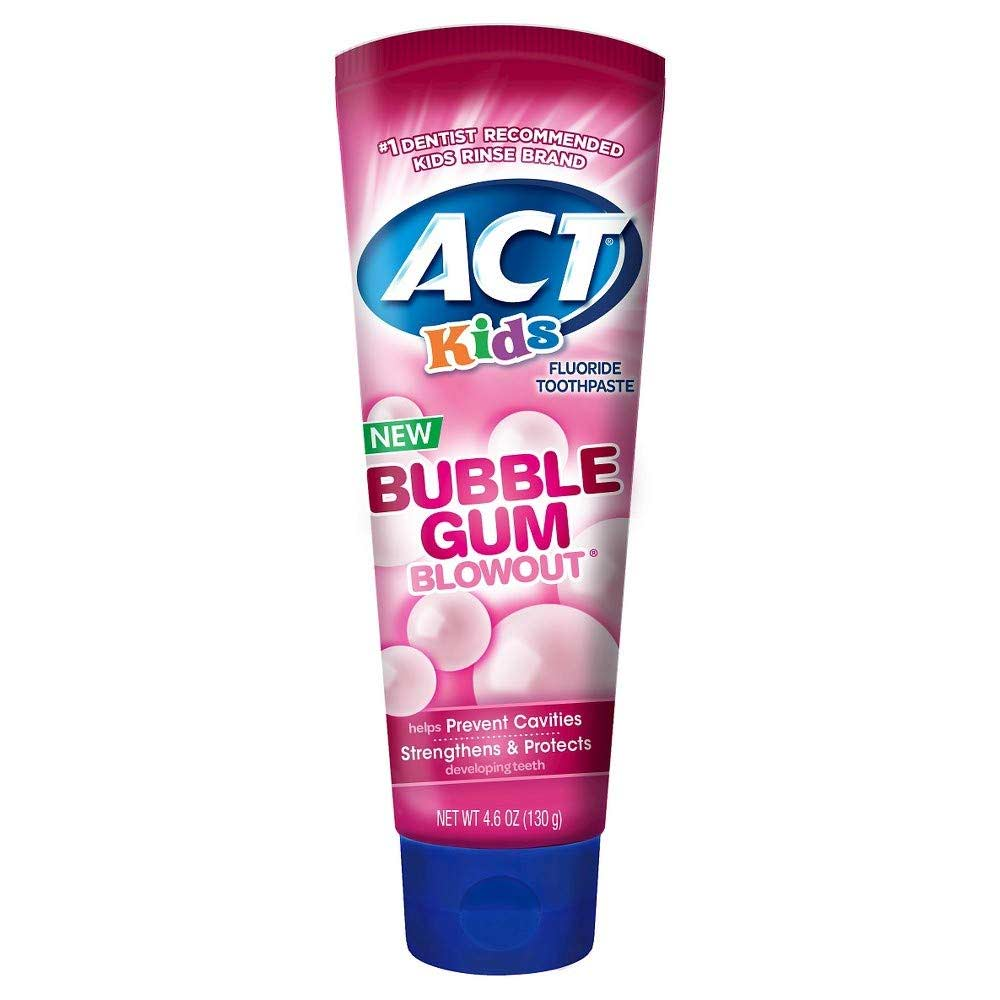 ACT Kids Bubblegum Blowout Toothpaste