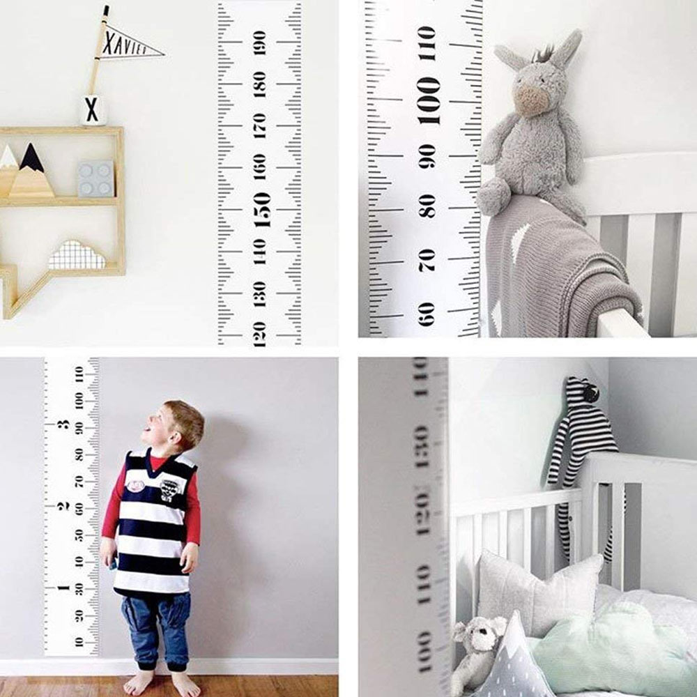 ANGTUO Kids and Baby Growth Charts Wall Decor Hanging