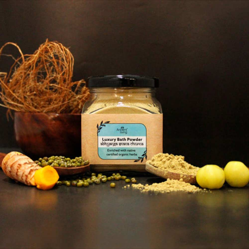 Ancient Living Baby Bath Powder enriched with Organic Ingredients