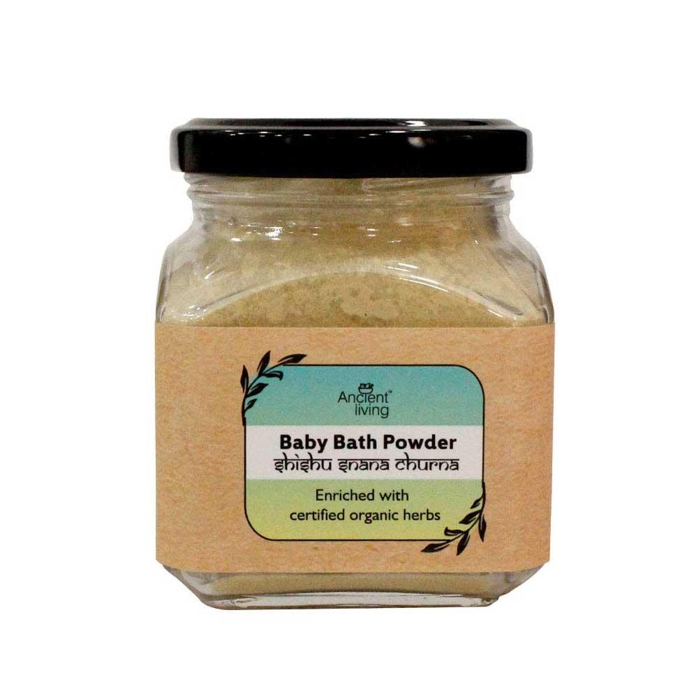 Ancient Living Organic Baby Bath Powder