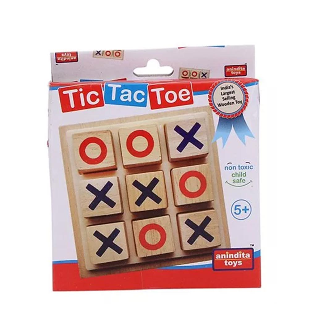 Anindita Toys Tic Tac Toe Game Set