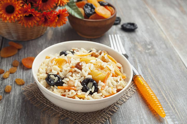 Apricot Chicken Rice