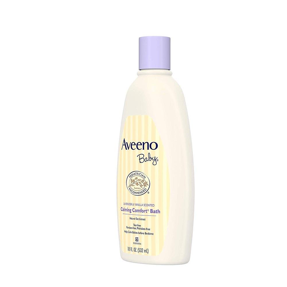 Aveeno Baby Calming Comfort Bath Lavender & Vanilla-4
