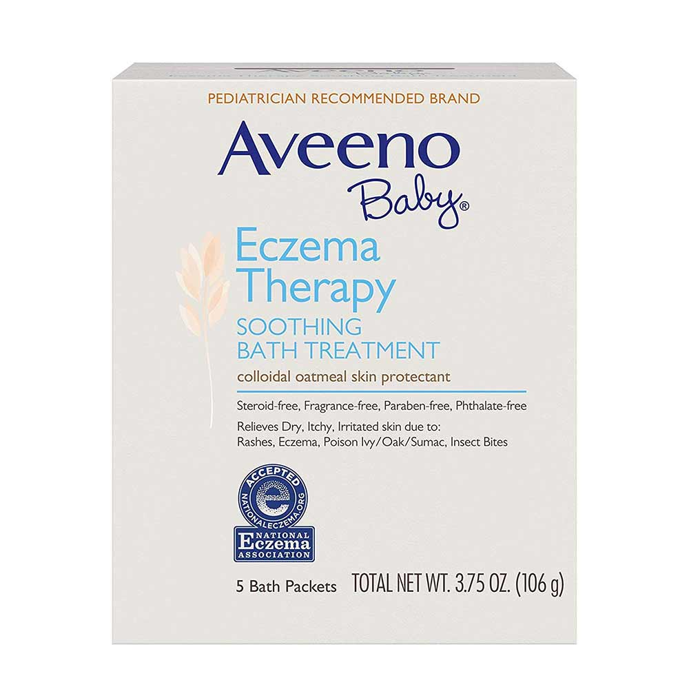 Aveeno Baby Soothing Bath Treatment Packets Eczema Therapy