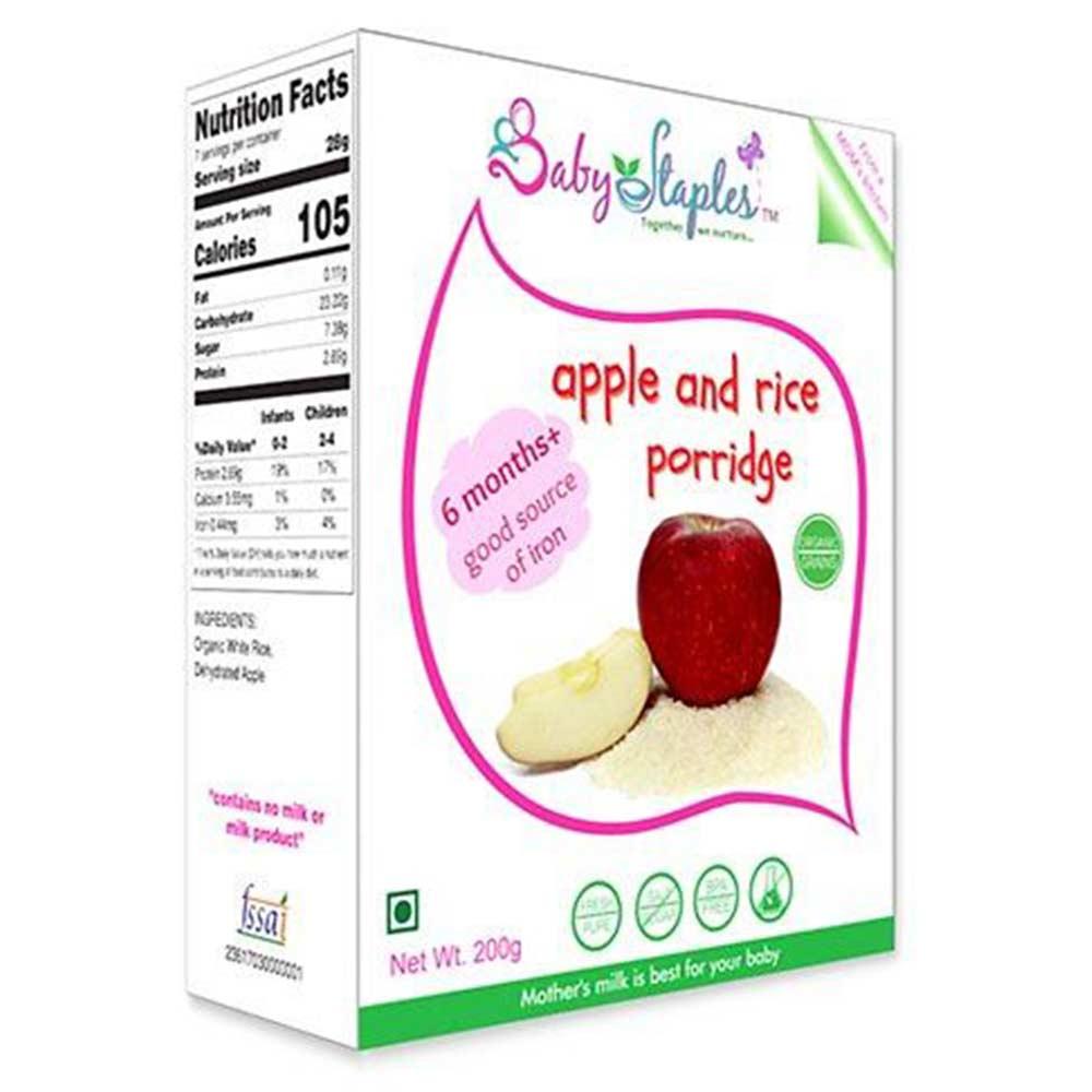 BabyStaples Apple & Rice Porridge